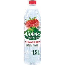 VOLVIC TOUCH OF FRUIT STRAWBERRY SUGAR F