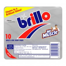 BRILLO 10 SOAP PADS