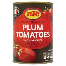 KTC Italian Plum Peeled Tomato