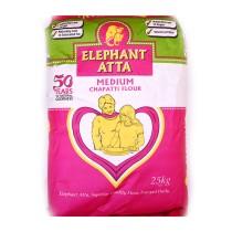 ELEPHANT MEDIUM ATTA 25KG