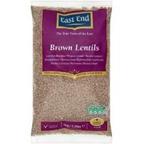 EE BROWN LENTILS 1KG