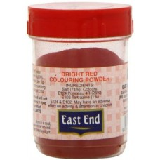 EAST END BRIGHT RED COLOURING POWDER 25G