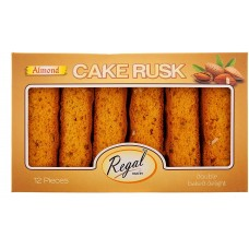 REGAL ALMOND CAKE RUSK
