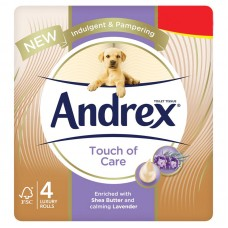 ANDREX TOUCH OF CARE 4ROLLS