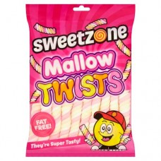 SWEETZONE MALLOW TWISTS 160G