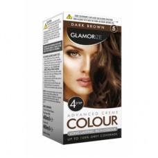 GLAMORIZE DARK BROWN HAIR COLOUR