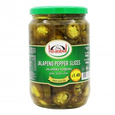 Istanbul Jalapeno Pepper Slices Pickles
