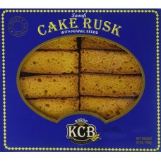 KCB 26 PIECE CAKE RUSK WITH FENNEL SEEDS