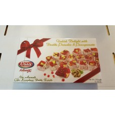 Usas Turkish delight with pomegranate