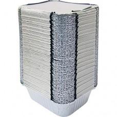 9 aluminium container & lid
